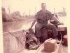 Sgt. Weldon in the Mekong Delta in his