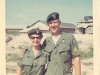 Maggie (Martha Ray) and Jim, Dec. 1967 Camp A-433, South Vietnam.