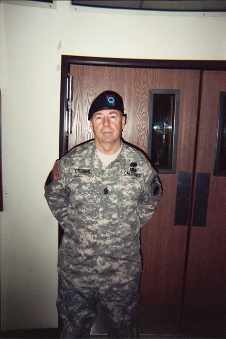 SGM. Robert Crebbs, June 2005