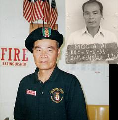 """Tai-Moc - Team: """"Dragon"""" Prisoner of war 1963 to 1982"""