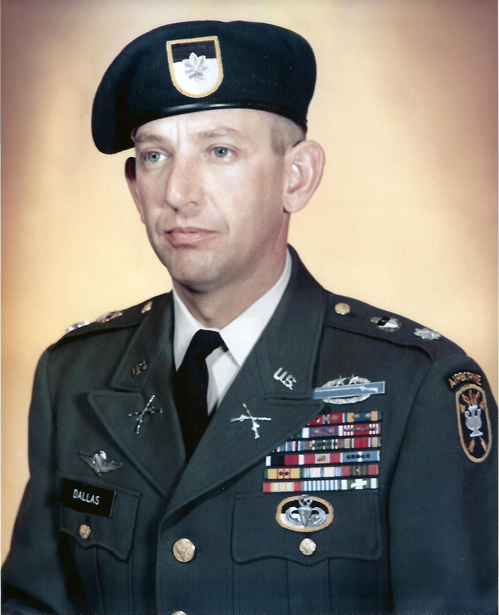 Ltc Frank J Dallas Special Forces Association Chapter 78