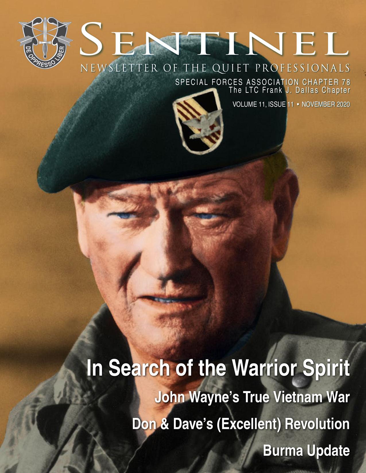 November 2020 Sentinel Cover